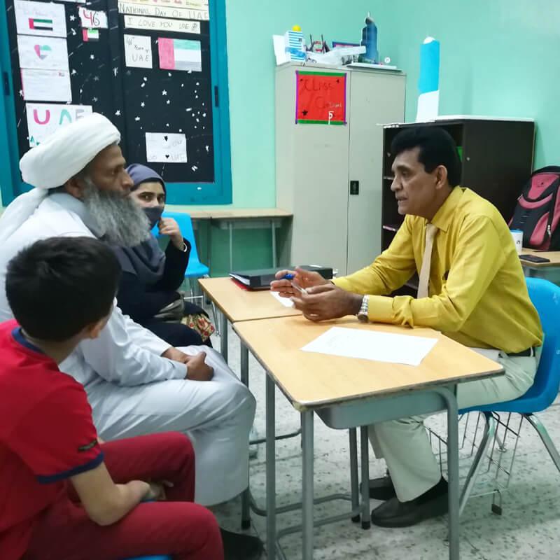 Pakistan Community School | Parent Teacher Meeting